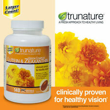 trunature VISION COMPLEX LUTEIN & ZEAXANTHIN 140 Softgels  ***NEW***