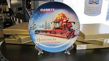 "Case IH 9"" Porcelain Limited Edition Holiday Plate"