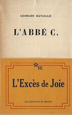 RARE EO N° GEORGES BATAILLE + RARE BANDEAU + CARTE HOMMAGE : L'ABBÉ C.