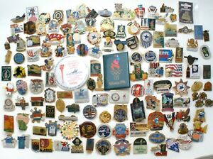 1996 Olympic Pins Lot Collection 136 Pins Brooches Collectible Mostly Atlanta