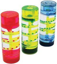Minuteur Liquide Mouvement de bureau huile flottante d'aide VISUELLE en spirale sensorielle enfants jouet cadeau