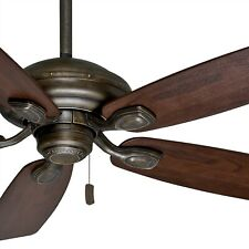 Casablanca 52 inch Aged Bronze Damp Rated Outdoor Ceiling Fan