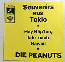 "COVER ONLY - DIE PEANUTS ""Souvenirs aus Tokio"" Top Zustand INFO-PS Columbia 60s"