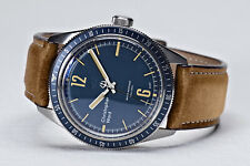 NEW Christopher Ward C65 Trident Diver Swiss Made Leather Strap Watch