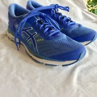 ASICS Gel Kayano 24 Womens Running Shoes Sneakers Blue White Size 11.5 T799N