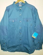 Columbia Hyland Woods Shirt Jacket Fleece Lined Mens XL NWT $110.00