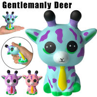 Jumbo New Spotted Deer Slow Rising Cream Squeeze Charm Scented Stress Relief Toy