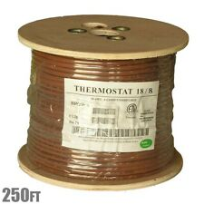 250ft 188 Unshielded Cmr Heating Air Conditioning Hvac Ac Thermostat Wire Cable
