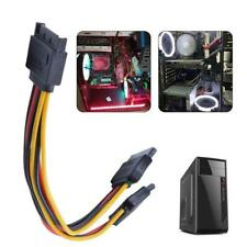Sata 15 Pin Male To-2 Female Power Cable Hdd / Ssd Splitter Connector Cable