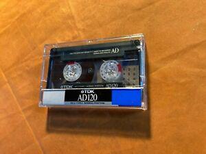 1 x TDK AD 120 Cassette,IEC I/Normal Position,sehr guter Zustand,rare,1988