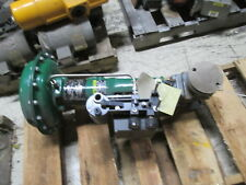 Fisher Diaphragm Control Valve w/ Positioner 667/EZ Used