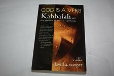 God Is a Verb: Kabbalah and the Practice of Mystical Judaism  by David Cooper
