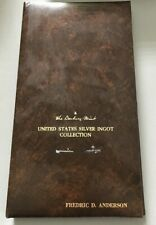 Danbury Mint United States Silver Ingot Collection Binder W/ Cards Only