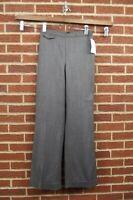NEW J CREW Womens Pants Slacks Size 6 City Fit 100% Wool NWT Black Suit Dress
