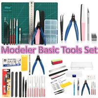 DIY Modeler Basic Tools Set Hobby Model Building Kit Grinding FOR GUNDAM Craft