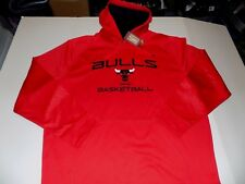 CHICAGO BULLS HARDWOOD CLASSICS NBA HOODY MENS SZ XL -RED- NWT