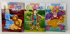 Bible Fun Colortivity Big Coloring & Activity Books Christian Lot of 3, Kids 5+
