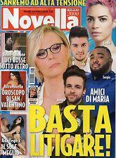 Novella 2017 7#Amici di Maria De Filippi,Pamela Anderson,Flavia Pennetta,Biaggi
