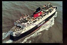 FE3457 - Sealink Ferry - St Columba , built 1977 - postcard