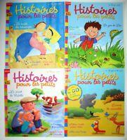 """Lot de 4 magazines """"Belles Histoires"""" - avr/mai/juin/été 2005"""