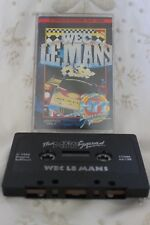 Commodore 64/128 Video game Weg Le Mans cassette