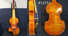 "Baroque style SONG Brand profession maestro 7×7 strings 14"" Viola d'Amore#12151"