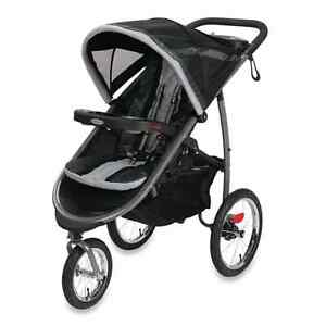 Graco FastAction Fold Jogger Click Connect Stroller In Gotham