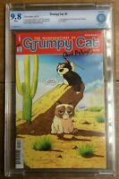 Grumpy Cat #1 1st Appearance Of Grumpy Cat & Pokey In Comics CBCS 9.8