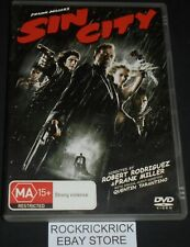 SIN CITY DVD REGION 4 (BRUCE WILLIS,MICKEY ROURKE,JESSICA ALBA,ELIJAH WOOD)