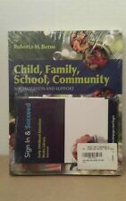 NEW & SEALED Berns, Roberta M.-Child, Family, School, Community 8th Edition Book