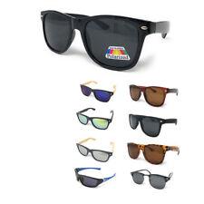 Classic Polarized Sunglasses Club Aviator Bamboo Sports Mirror Men's Women's