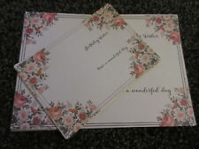 A4 and A5 Sheets Anniversary Inserts Cards Sentiments