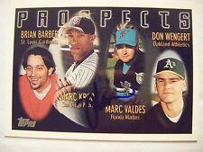 MARC VALDES signed RC MARLINS 1996 Topps baseball card AUTO FLORIDA GATORS EXPOS