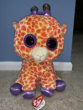 e2ce139b88a TY BEANIE BOO Large Jumbo 17†18†Darci Giraffe Justice Exclusive With Tag
