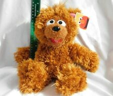 "New 15"" Soft Brown Baby Bear Plush Sesame Street Sesame Place Furry Beans 111213"