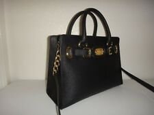 Michael Kors Hamilton Handbag Bag MK Saffiano Leather Purse