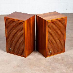 Mid Century Modern Speakers JBL Lancer 99 S99 Walnut Vintage Speaker Set Hifi