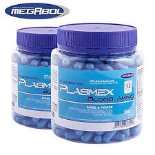 Megabol Plasmex 350 Capsules Animal BCAA + Essential Amino Acids Protein Pills