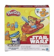 STAR WARS  Play Doh Can Heads Luke Skywalker & R2-D2 Kid's Age 3+