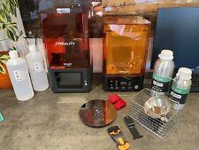 Creality Halot-One Resin Printer + Creality UW-01 Wash and Cure Stations