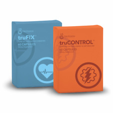 120 Count TruVision Health TruFix + TruControl 30 Day Weight Loss Combo