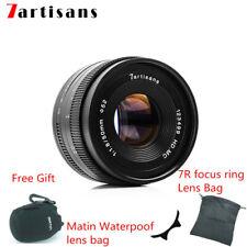7artisans 50mm F1.8 Manual Prime Fixed Lens for Canon SONY Fuji Panasonic M43