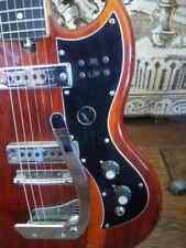Rétro Cool Kay K-2 T guitare en ordre de marche SG Shape fantastique sonore.