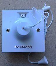Bargain Fan Isolator Ceiling Pull Cord Switch 3 Pole BG804 BG Electrical