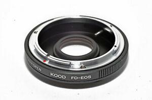 Canon FD Lens to Canon EOS Body Adapter FD-EOS Canon Adapter