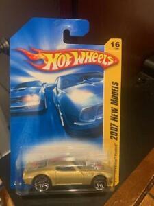 2007 Hot Wheels New Models '70 Pontiac Firebird #16 Gold