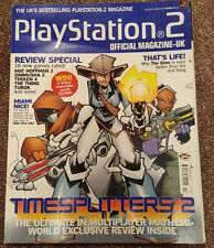 Official UK Playstation 2 Magazin Ausgabe no.25 -- TimeSplitters 2 Cover