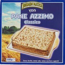 6 conf. Pane Azzimo Kosher classico 500 gr Jerusalem Matzot