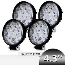 4inch LED Work Lights Fog Pod Tractor Trailer Combo Kit For John Deere Driving