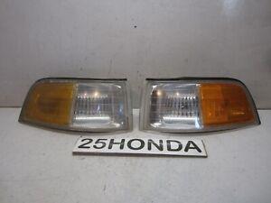 1991-1995 Acura Legend 2 Door Coupe Stanley OEM Corner Lights KA8 Rare